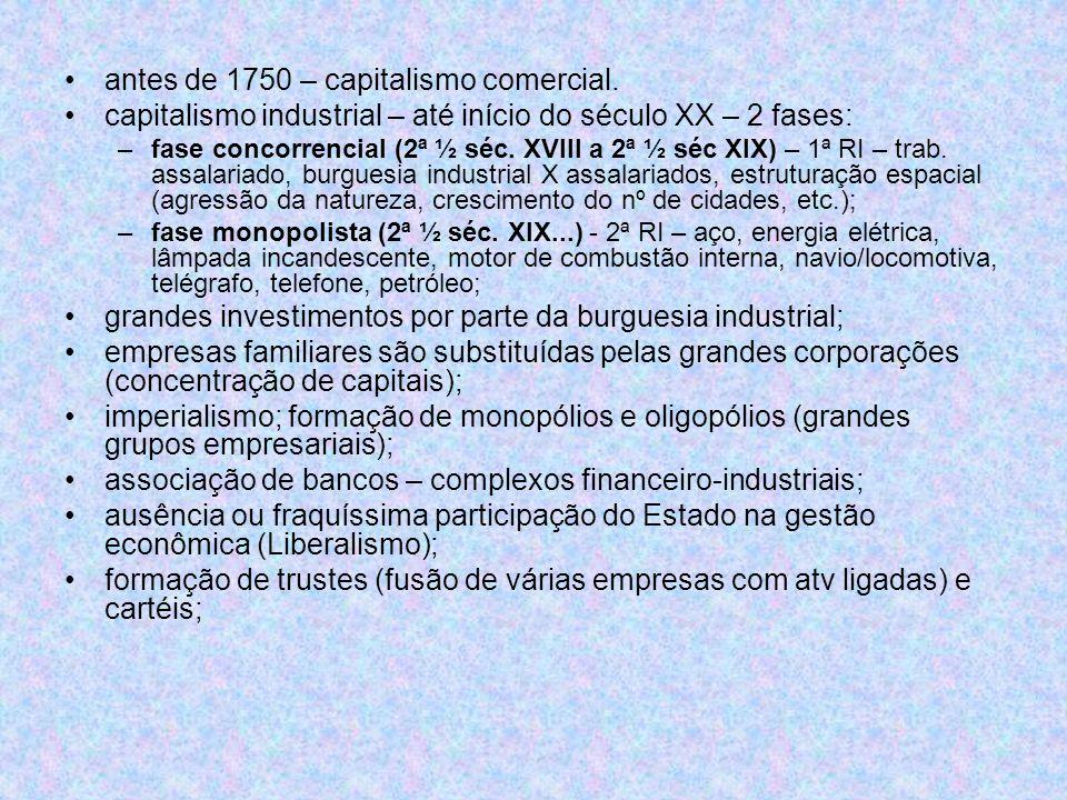 Inserção do Brasil na economia mundial fim do séc XX – economia agrária e sob controle da aristocracia rural; estrutura produtiva não alterada (export.