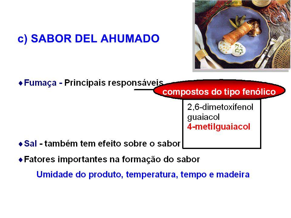 c) SABOR DEL AHUMADO