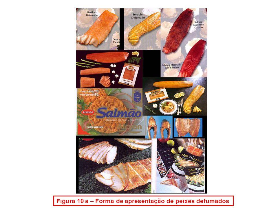 Figura 10 a – Forma de apresentação de peixes defumados