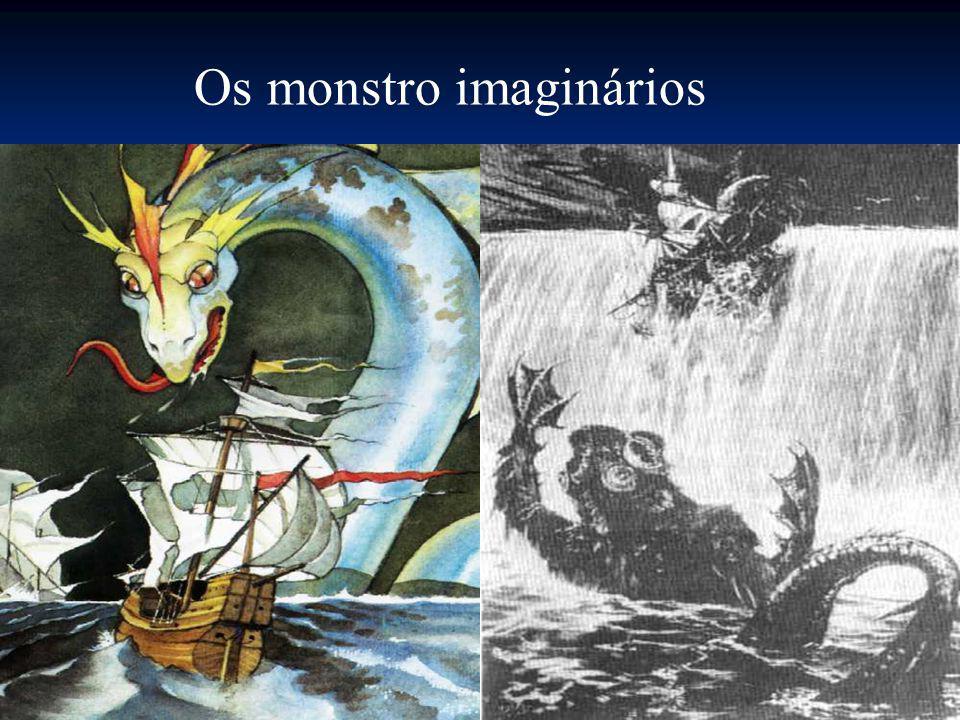 Os monstro imaginários