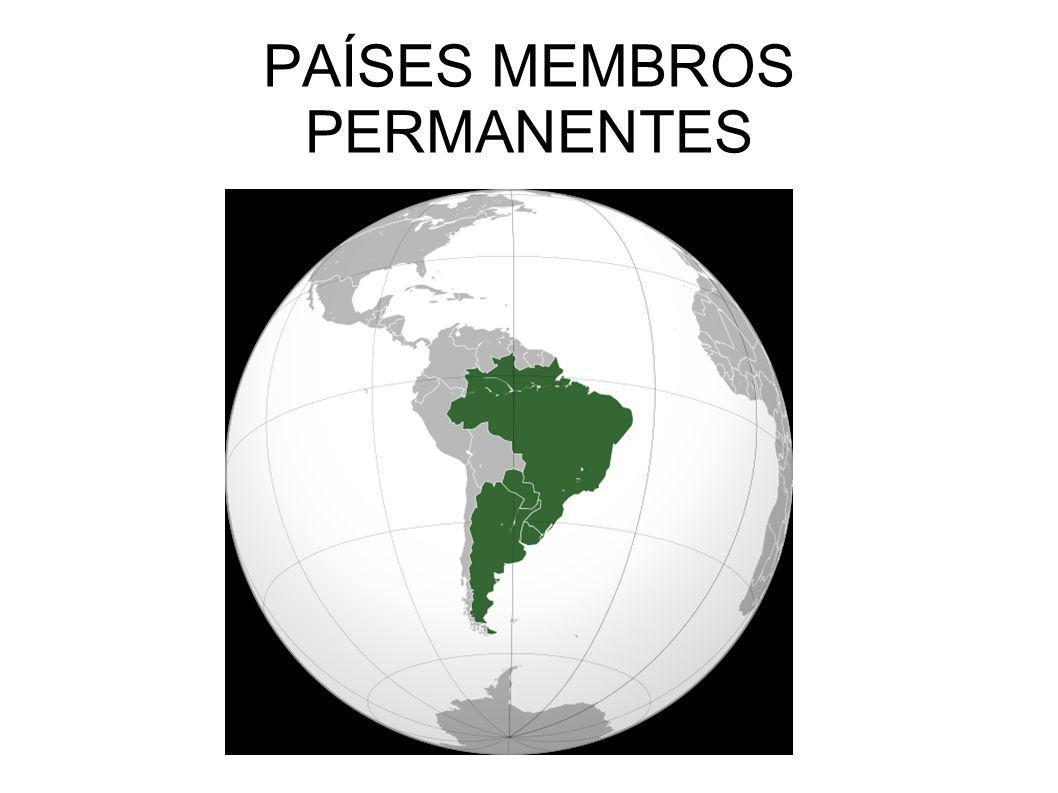 PAÍSES MEMBROS PERMANENTES