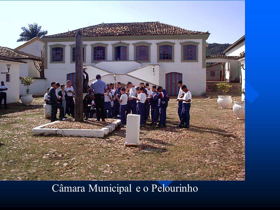 Câmara Municipal e o Pelourinho