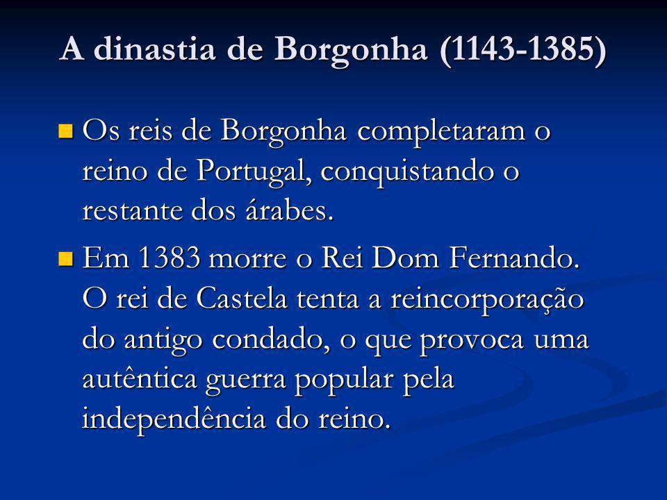 O Castelo de São Jorge em Lisboa. Uma das conquistas dos reis da Dinasta de Borgonha.