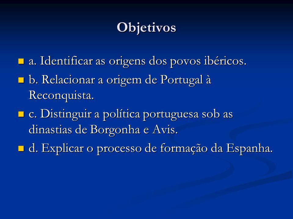 A Formação de Portugal Portugal está localizada na Europa, em uma penísula chamada Península Ibérica e povoada pelos lusitanos.