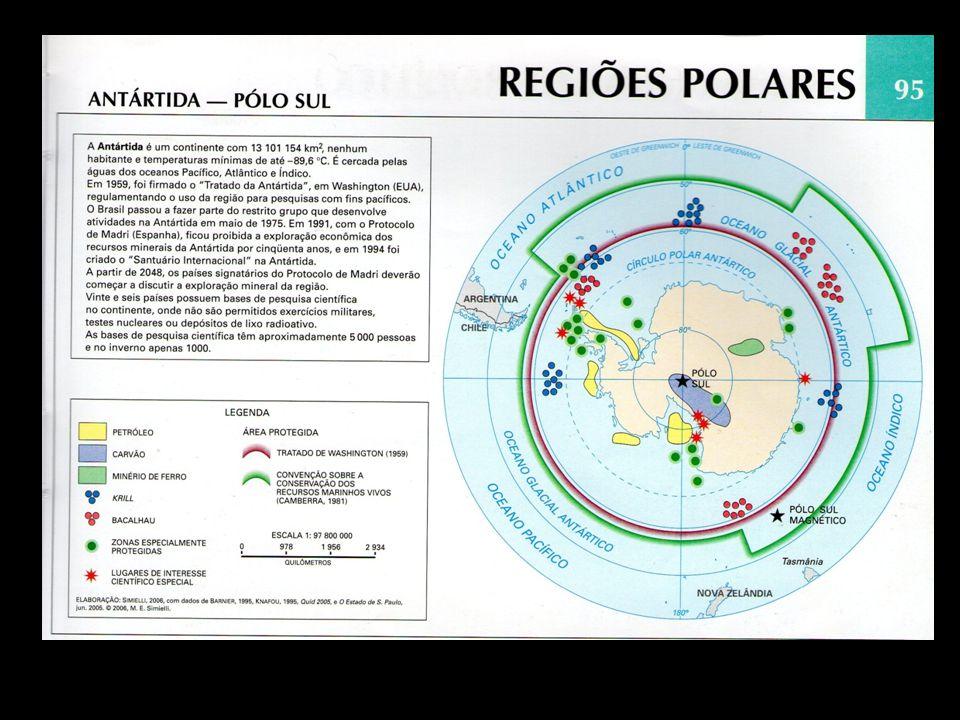 Explique a origem do nome do continente antártico.