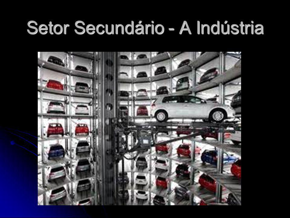 Setor Secundário - A Indústria