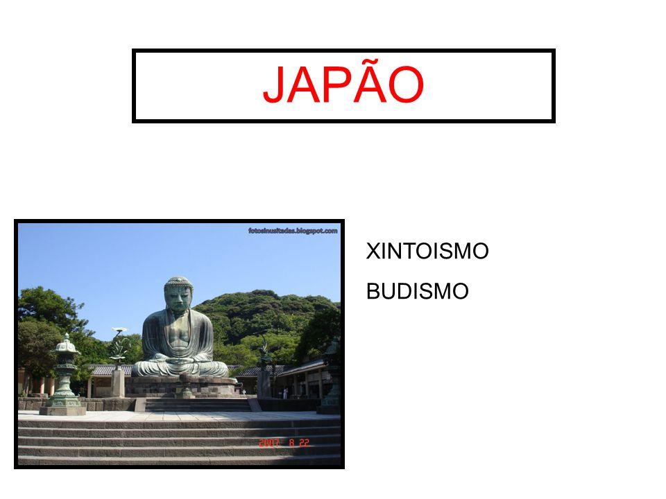 JAPÃO XINTOISMO BUDISMO