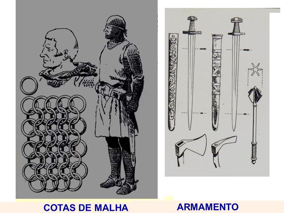 CAPA FEUDALISMO COTAS DE MALHA ARMAMENTO