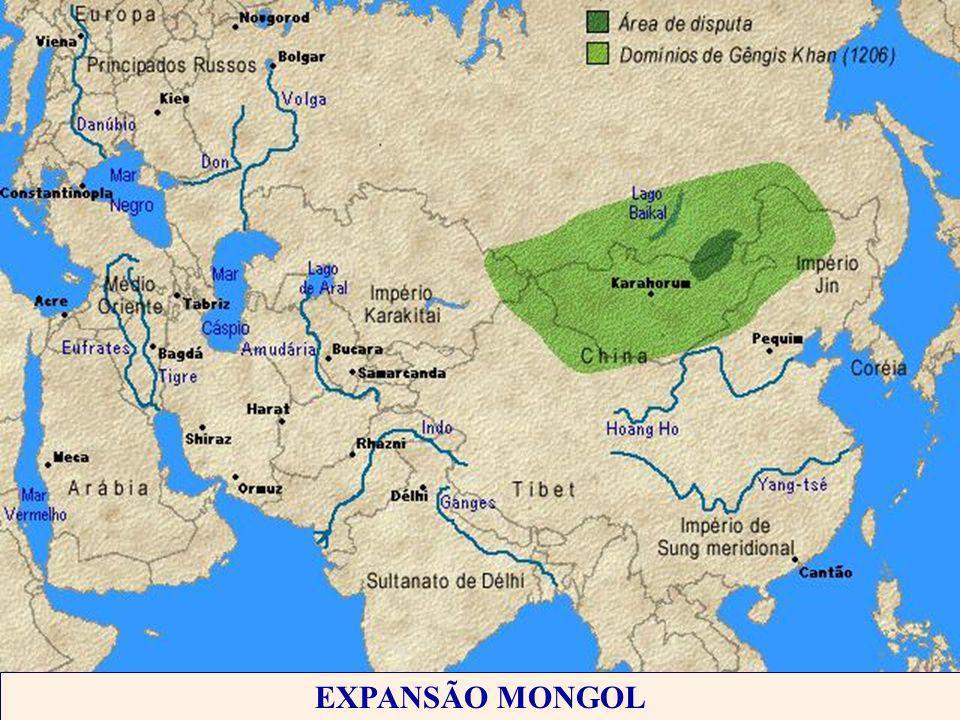 EXPANSÃO MONGOL
