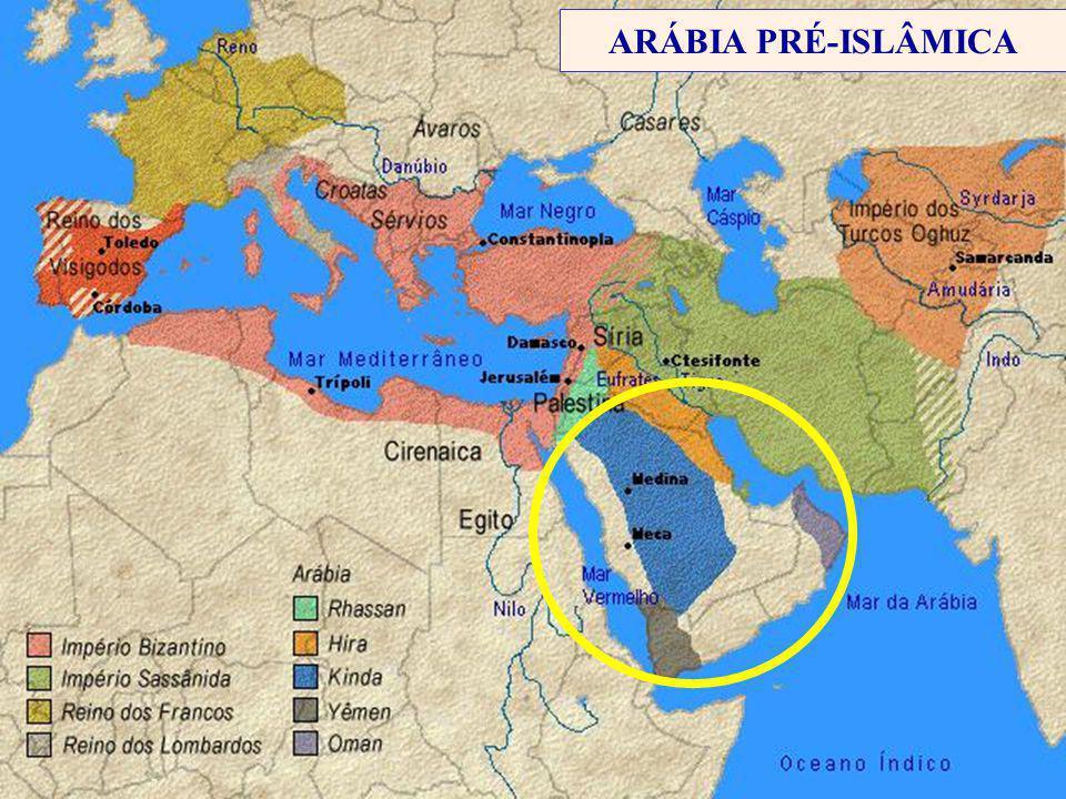ARÁBIA PRÉ-ISLÂMICA