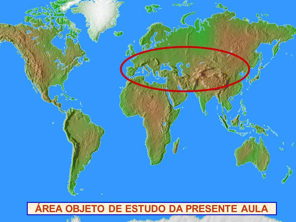 ÁREA OBJETO DE ESTUDO DA PRESENTE AULA