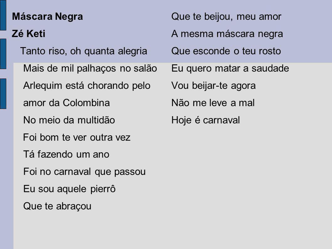 Origens do Carnaval no Brasil O entrudo, importado dos Açores, foi o precursor das festas de carnaval, trazido pelo colonizador português.