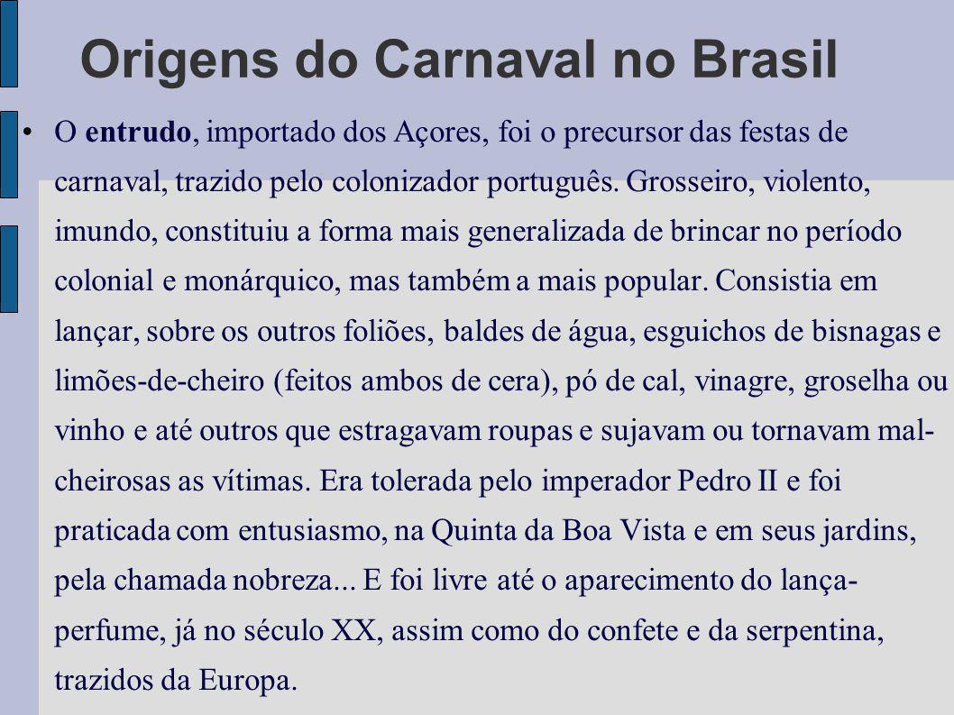 O Zé-Pereira.