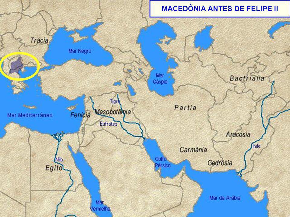 - MACEDÔNIA ANTES DE FELIPE II