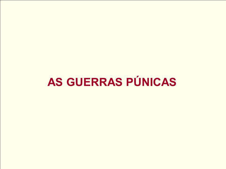 AS GUERRAS PÚNICAS