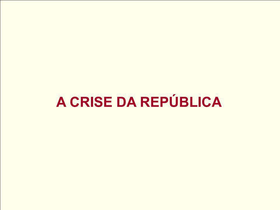 A CRISE DA REPÚBLICA