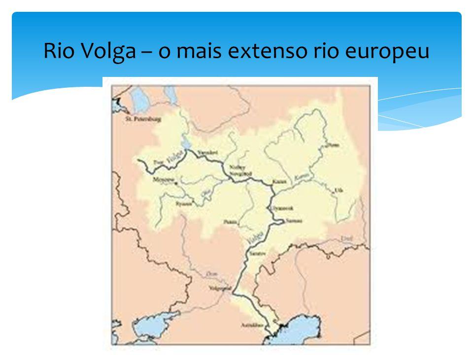 Rio Volga – o mais extenso rio europeu