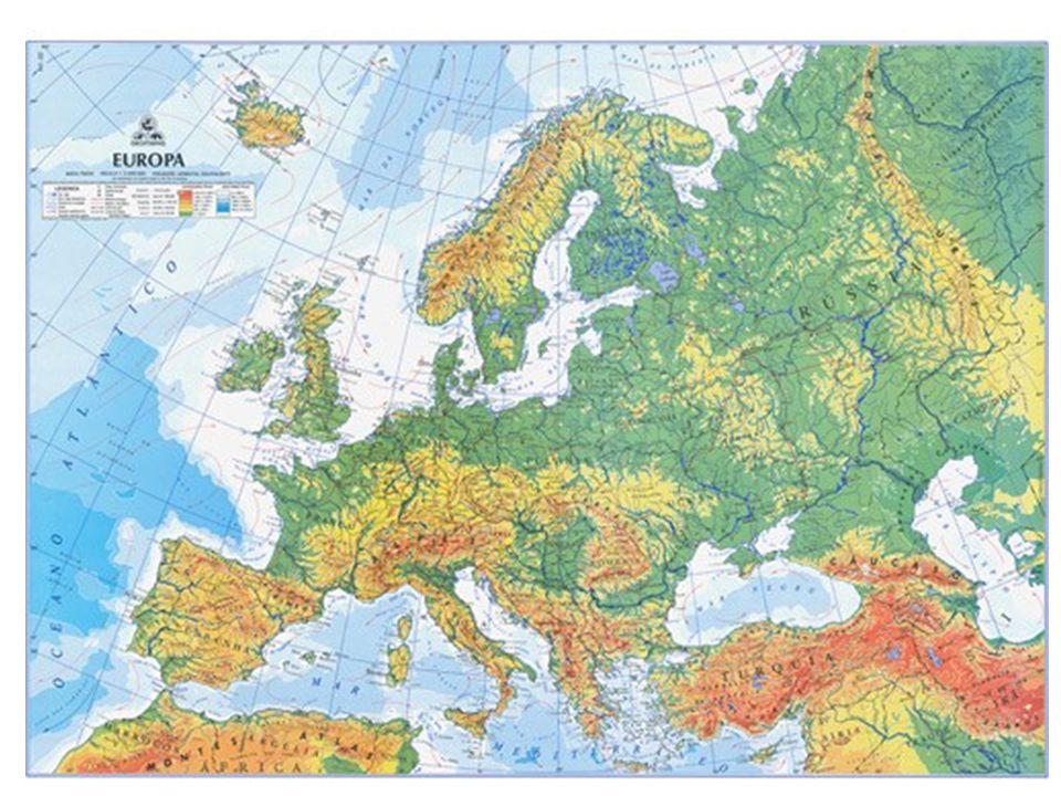 Tomando com base os aspectos naturais, podemos distinguir três regiões europeias com características climáticas e formações vegetais: EUROPA DO NORTE: latitudes superiores s 60 N, Climas: Frio e Polar, onde encontramos a Floresta Boreal e a Tundra.