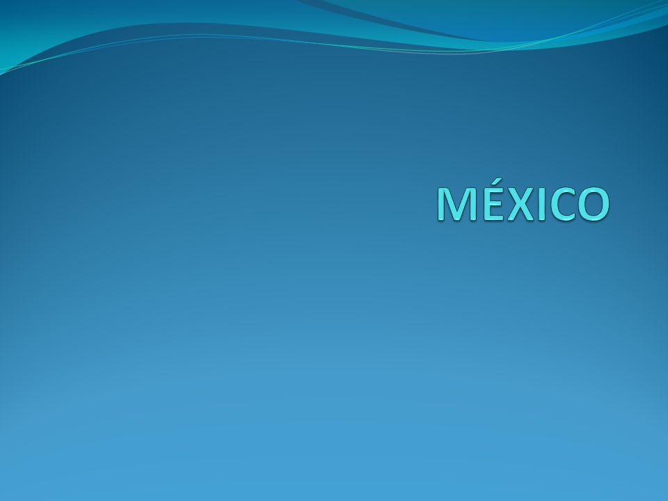 Independência do México Independente da Espanha em 1821.