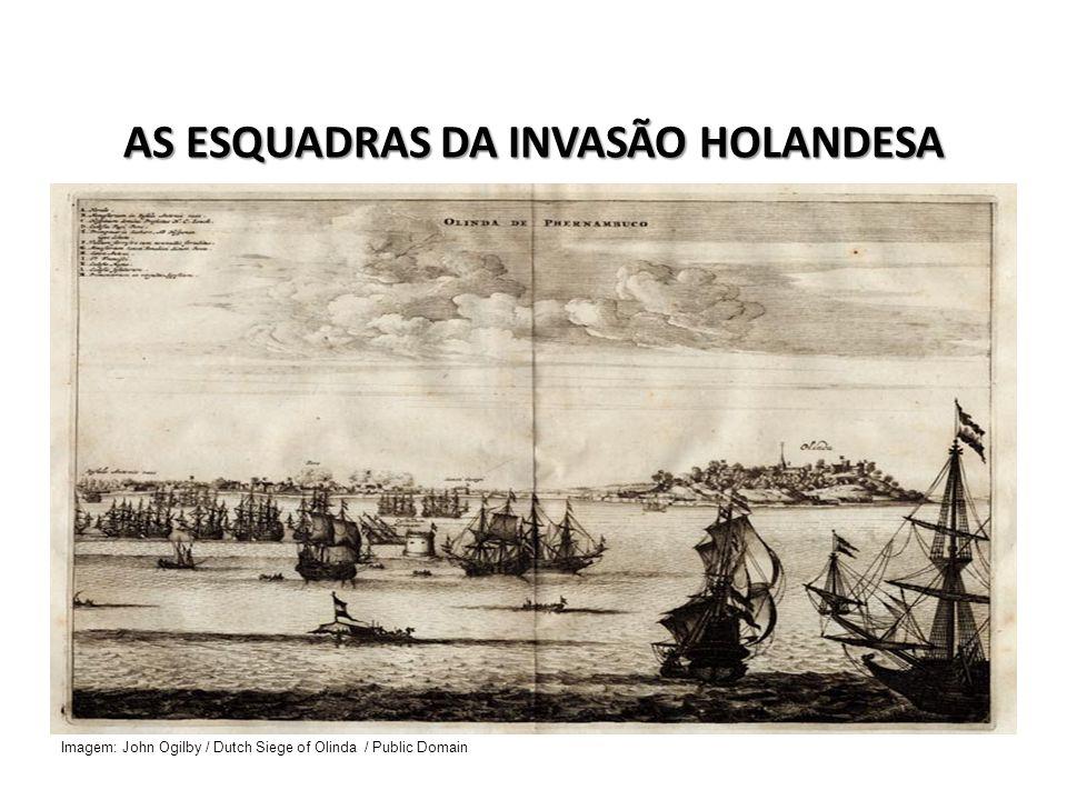RECONQUISTA DE FERNANDO DE NORONHA Após a tomada de Arraial Velho do Bom Jesus e do cabo de Santo Agostinho, os holandeses dirigem-se em 1635 à reconquista de Fernando de Noronha, após derrotar aos ocupantes portugueses reforçam posteriormente a artilharia do antigo reduto (1646), retirando-se somente após a capitulação de Recife (1654).