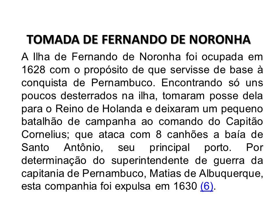 OCUPAÇÃO DE PERNAMBUCO Na capitania de Pernambuco, a invasão holandesa iniciou-se em 1630 com uma esquadra que contava com 66 embarcações e 7.280 homens que começaram com a ocupação de Recife e Olinda.