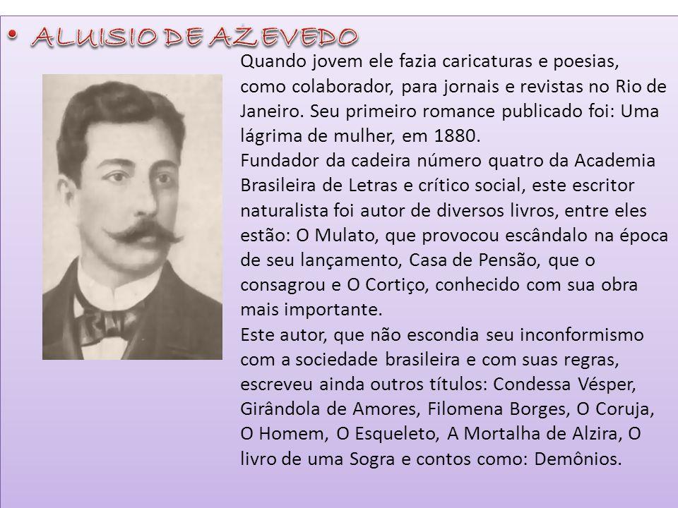 Quando jovem ele fazia caricaturas e poesias, como colaborador, para jornais e revistas no Rio de Janeiro. Seu primeiro romance publicado foi: Uma lág