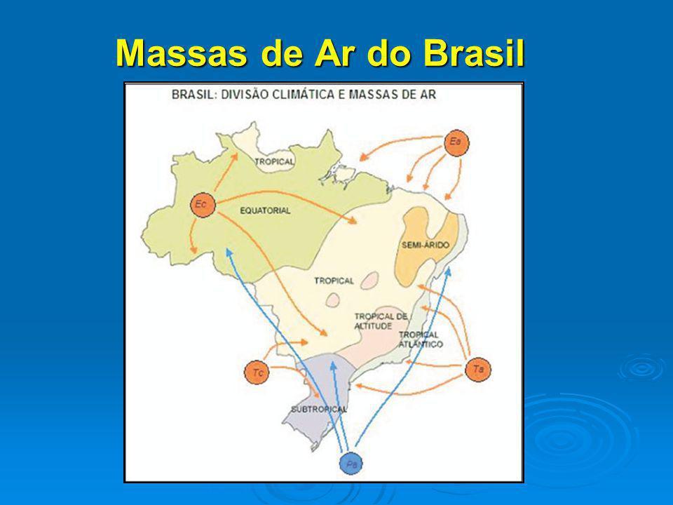 Massas de Ar do Brasil