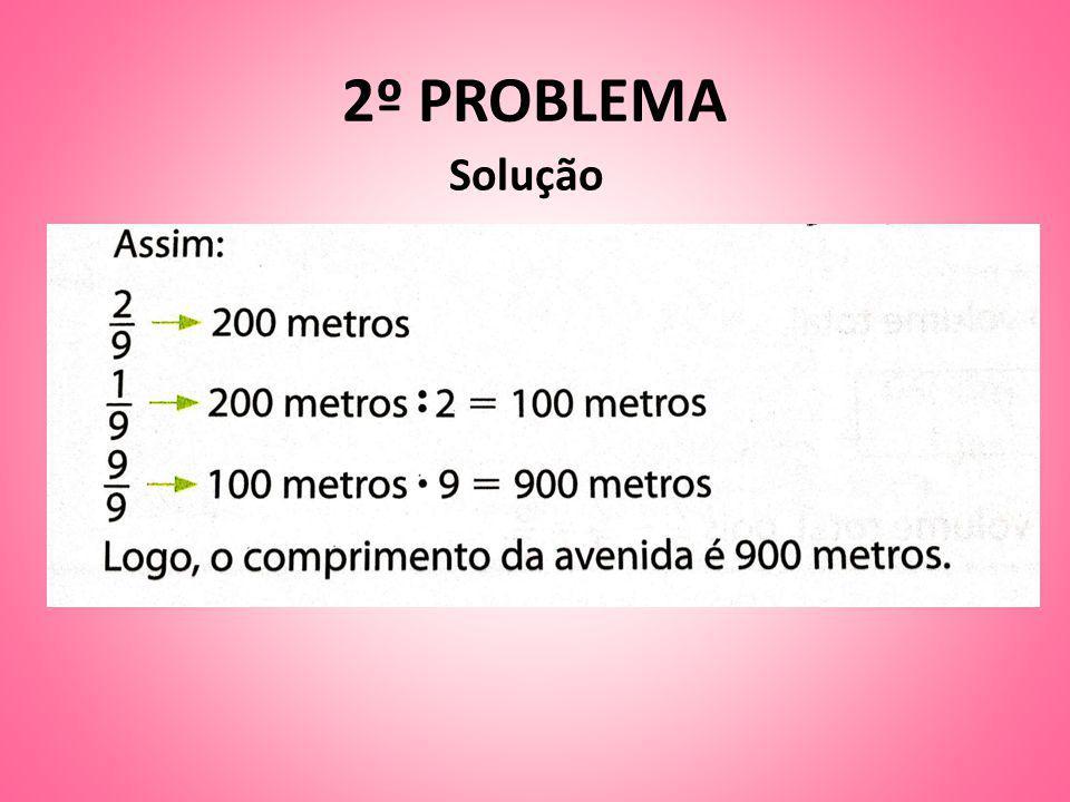 2º PROBLEMA Solução