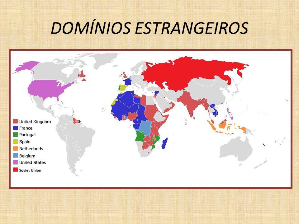DOMÍNIOS ESTRANGEIROS