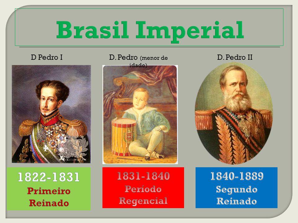 D Pedro ID. Pedro (menor de idade) D. Pedro II
