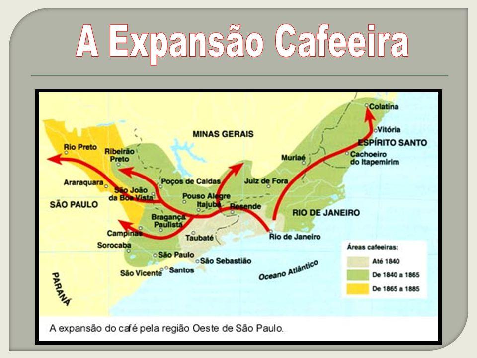 No Segundo Reinado o café se firmou como o principal produto de exportação A questão da mão-de-obra Os ingleses instituíram o Bill Aberdeen, em 1844 Lei Eusébio de Queiróz (1850) Incentivo à imigração