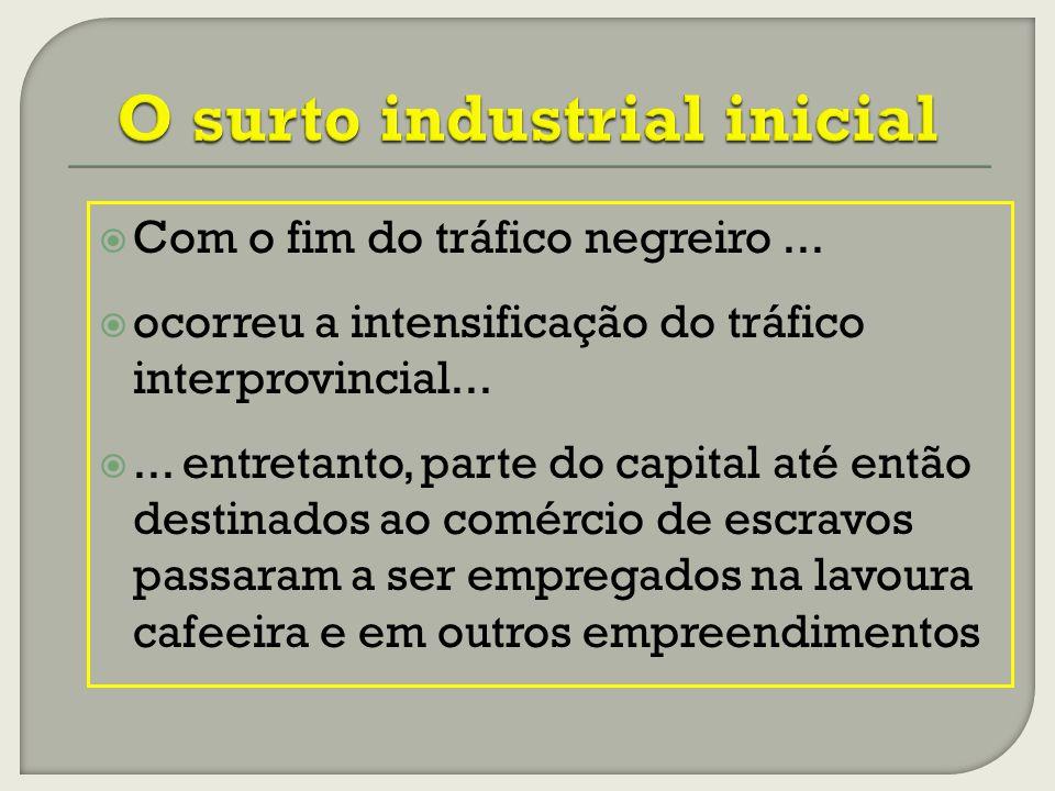 Com o fim do tráfico negreiro...ocorreu a intensificação do tráfico interprovincial......