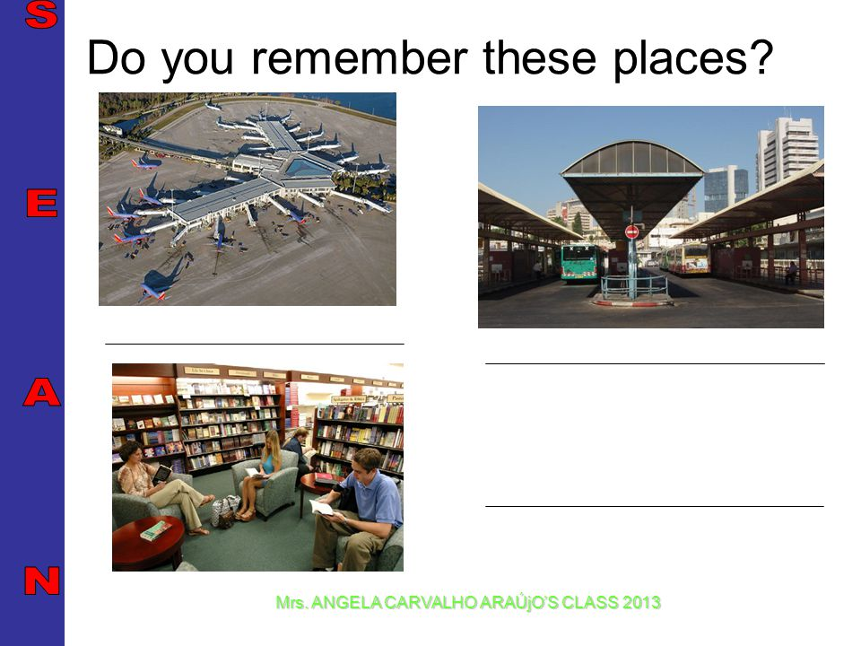 Do you remember these places