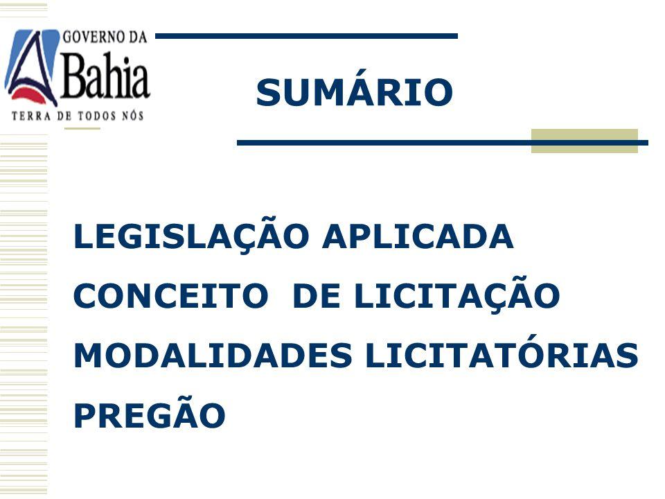 HOMOLOGAÇÃO: Ato de competência exclusiva da autoridade superior - define a legalidade e conveniência da licitação; No pregão, valida a adjudicação.