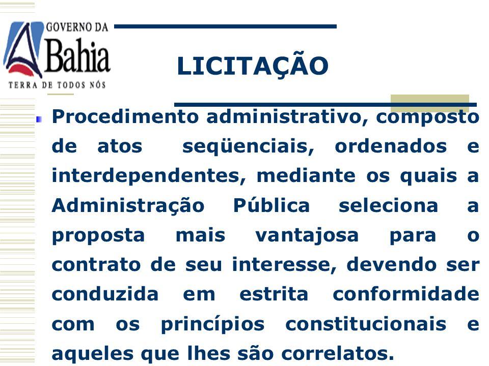 PRINCÍPIOS BÁSICOS VINCULAÇÃO AO DOCUMENTO LICITATÓRIO A administração bem como os licitantes, ficam obrigados a cumprir os termos do edital em todas as fases do processo: documentação, propostas, julgamento e contrato.
