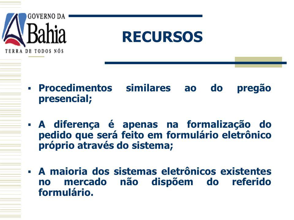 ADJUDICAÇÃO E HOMOLOGAÇÃO Adjudicação e homologação mesma forma pregão eletrônico; Pela autoridade superior no sistema eletrônico; Registro documental