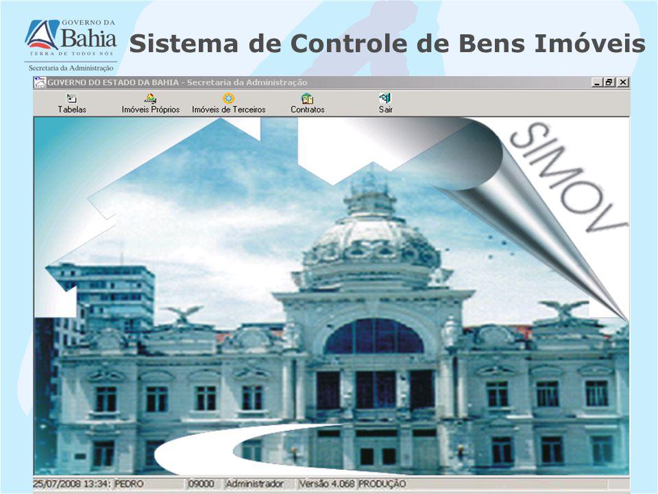 Sistema de Controle de Bens Imóveis