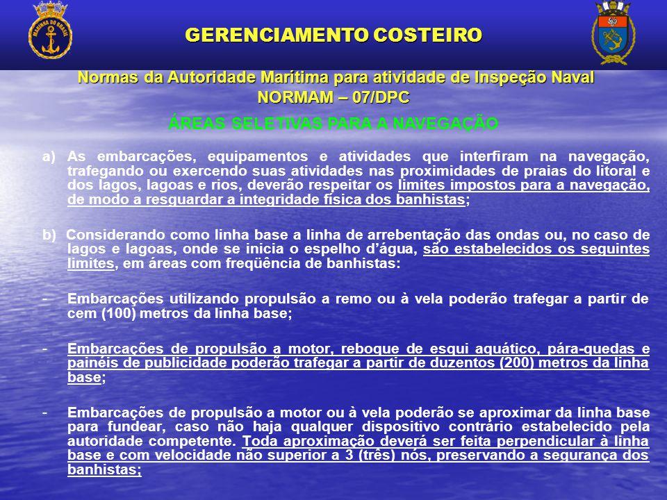 Normas da Autoridade Marítima para atividade de Inspeção Naval NORMAM – 07/DPC Normas da Autoridade Marítima para atividade de Inspeção Naval NORMAM –
