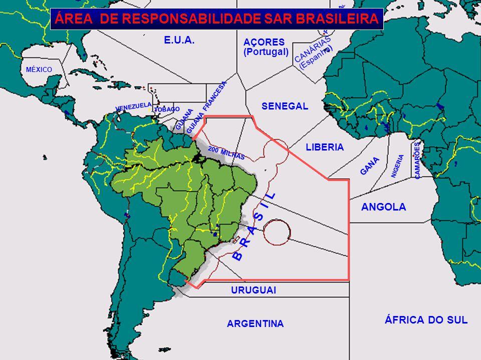ÁFRICA DO SUL ARGENTINA E.U.A. B R A S I L ANGOLA CAMARÕES NIGERIA GANA LIBERIA SENEGAL CANÁRIAS (Espanha) PORTUGA L AÇORES (Portugal) MÉXICO VENEZUEL