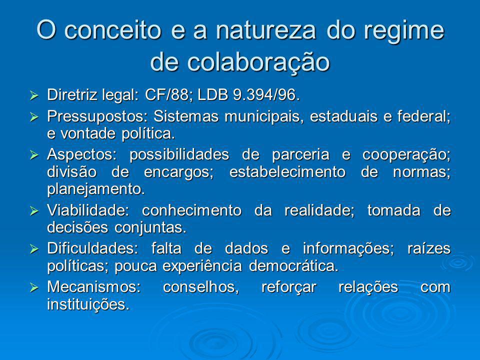 Contradições Esse modelo federativo cooperativo exige que as negociações sejam baseadas na cooperação voluntária e em decisões consensuais.