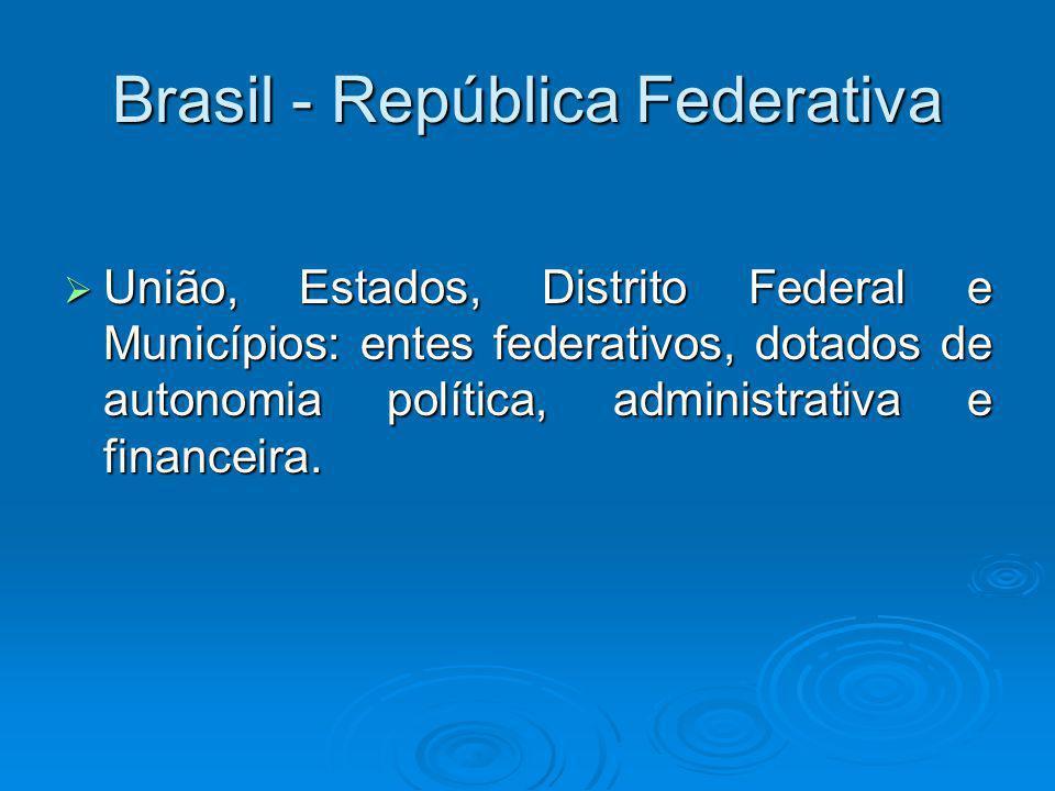 Federalismo cooperativo A CF/88 inspirou-se na experiência constitucional alemã, onde se origina a idéia do federalismo cooperativo.