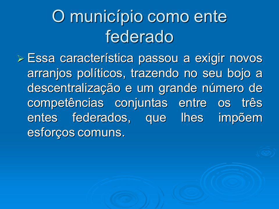 Competências dos entes federados A LDB definiu, então, as competências e incumbências de cada um dos entes federados.