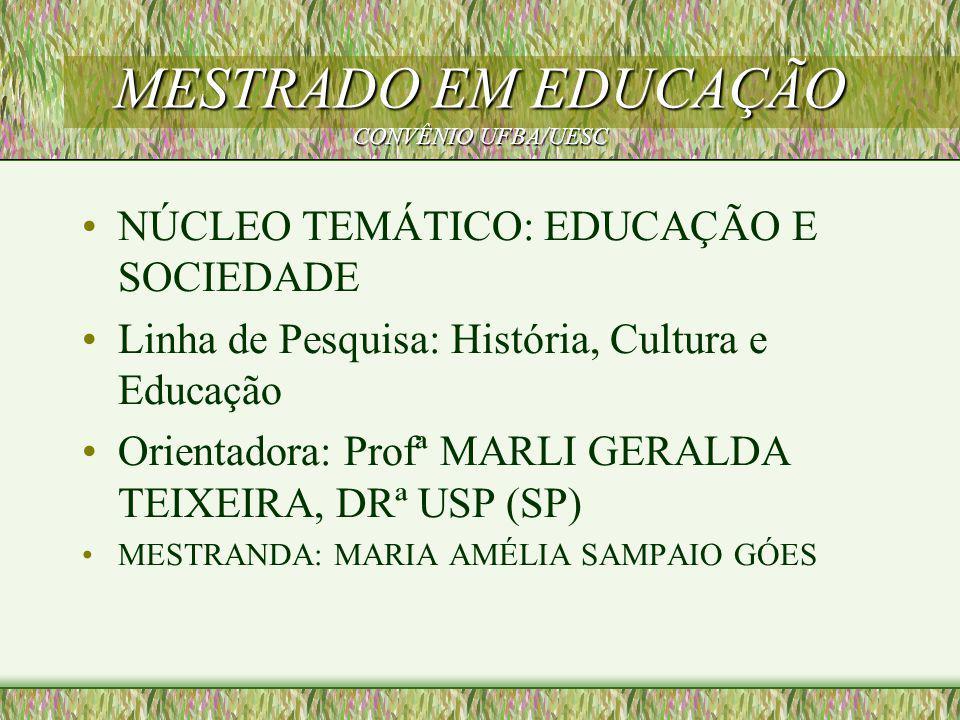 Projeto A DIMENSÃO PEDAGÓGICA DO MINISTÉRIO PÚBLICO A GUARDA DO DIREITO À EDUCAÇÃO DE CRIANÇAS E ADOLESCENTES DO MUNICÍPIO DE ILHÉUS