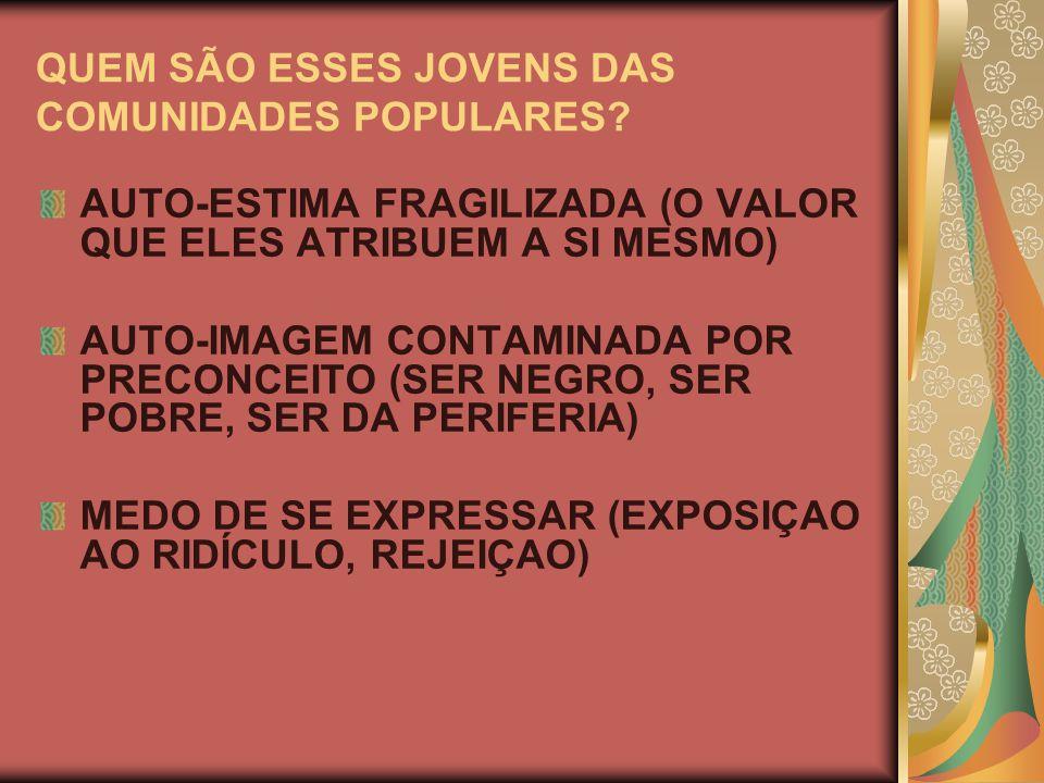PROTAGONISMO JUVENIL COMO FORMA DE PARTICIPAÇÃO SOCIAL