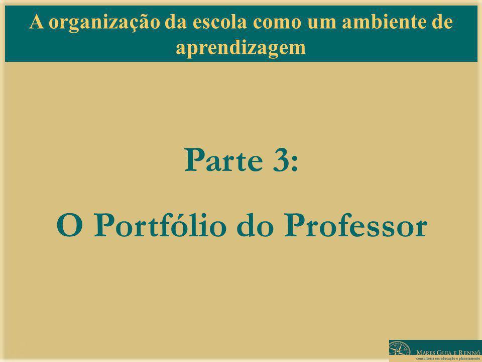 Parte 3: O Portfólio do Professor