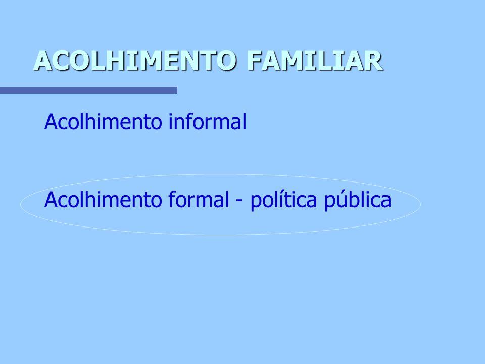 ENFOQUE FORMAL n Prática mediada por profissionais, com plano de intervenção definido, administrado por um serviço, conforme política pública estabelecida.