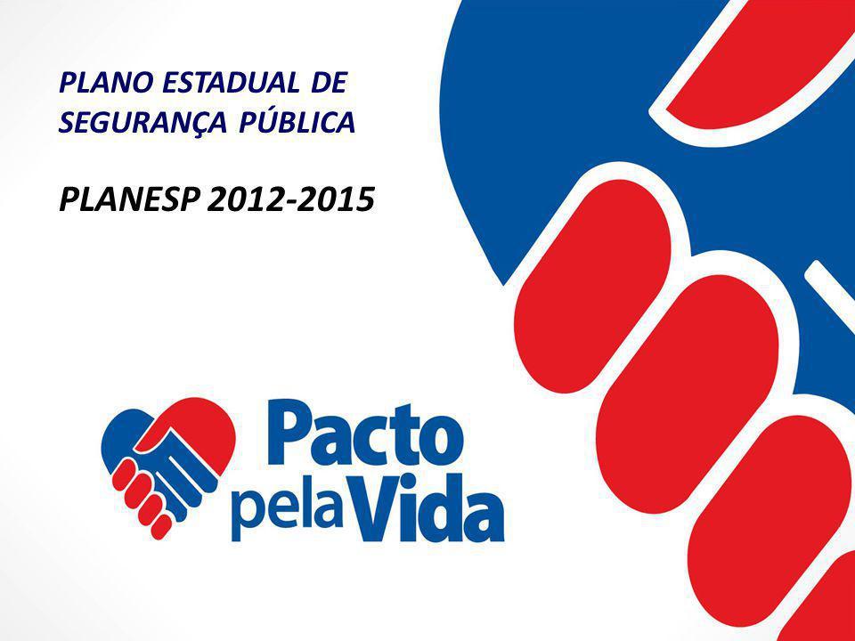 PLANO ESTADUAL DE SEGURANÇA PÚBLICA PLANESP 2012-2015