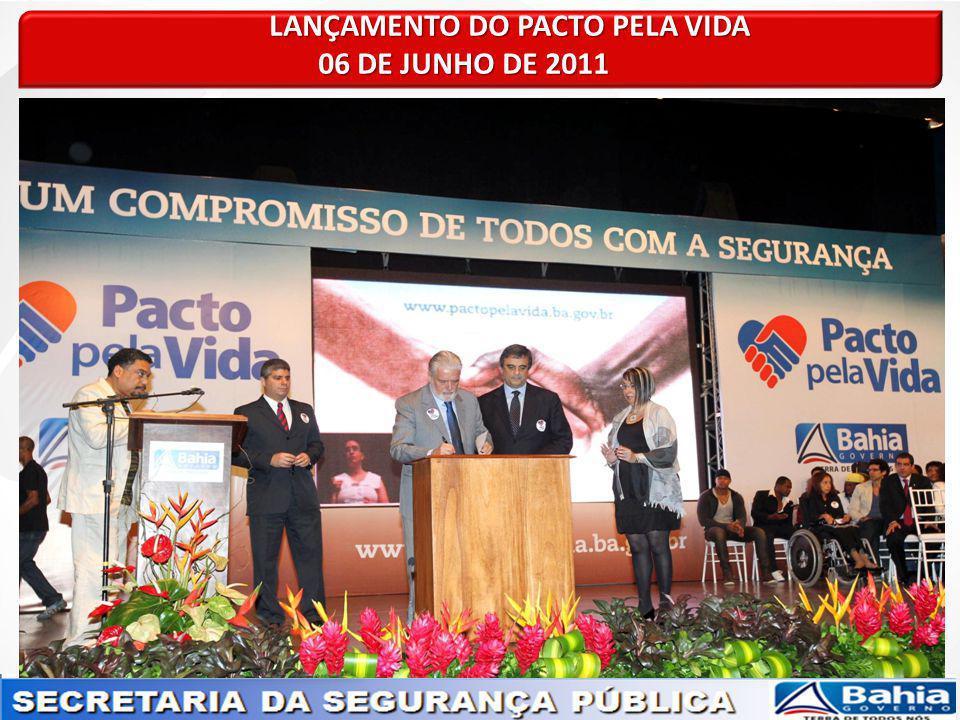LANÇAMENTO DO PACTO PELA VIDA LANÇAMENTO DO PACTO PELA VIDA 06 DE JUNHO DE 2011