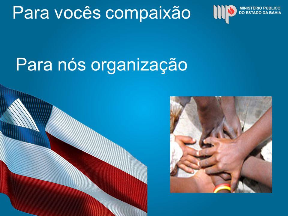 Para vocês compaixão Para nós organização
