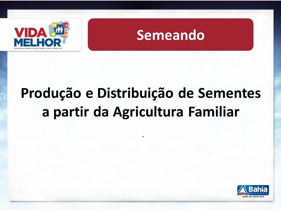 Fomento às atividades produtivas no VIDA MELHOR 2.1. Dinamização dos Programas Federais Crédito Rural (Pronaf) Garantia Safra Preços Mínimos Programa